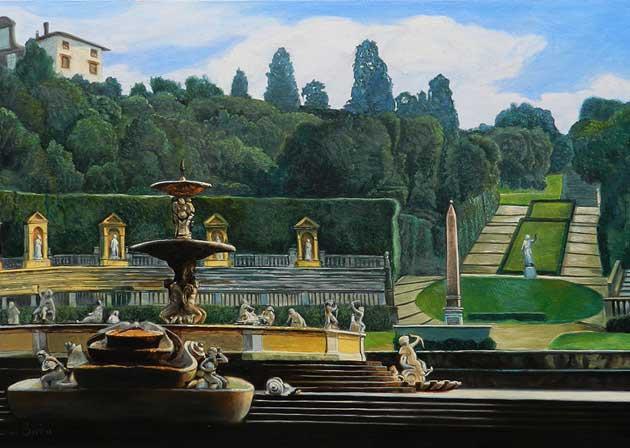 Grădinile palatului