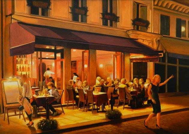 Noaptea, la Paris