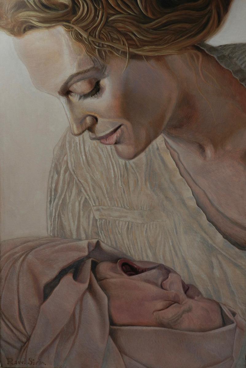 Nașterea | Ulei pe pânză | 30 x 45 cm | 2016 | 600 EURO