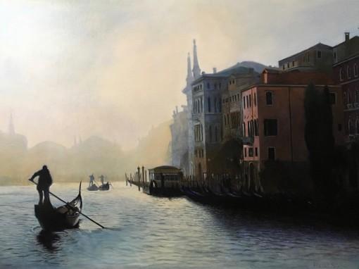 Amurg la Veneția