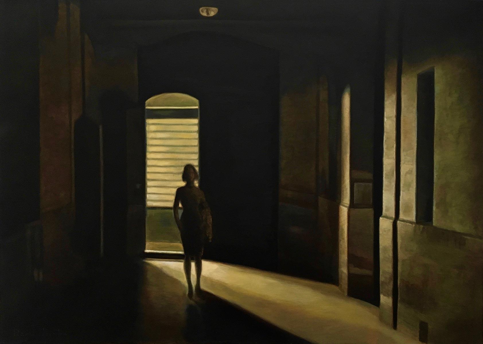 Her Return | Ulei pe pânză | 50 x 70 cm | 2017 | 700 Euro
