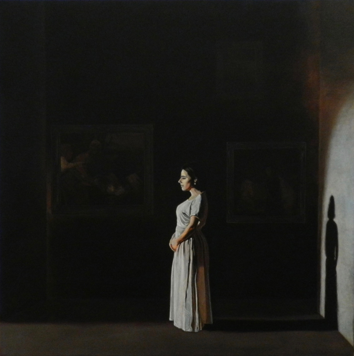 Life Imitates Art | Ulei pe pânză | 80 x 80 cm | 2017 | 1500 Euro