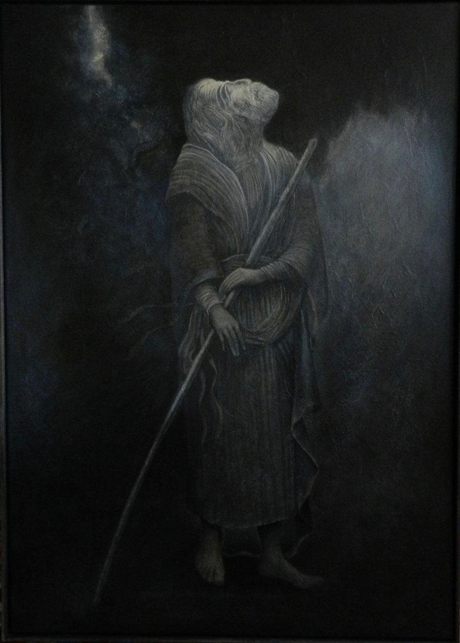 Dio Perso | Acrilic pe pânză | 50 x 70 cm | 2017 | 800 Euro