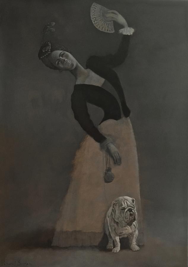 Evantaiul | Ulei pe pânză | 70 x 50 cm | 2018 | 1200 Euro