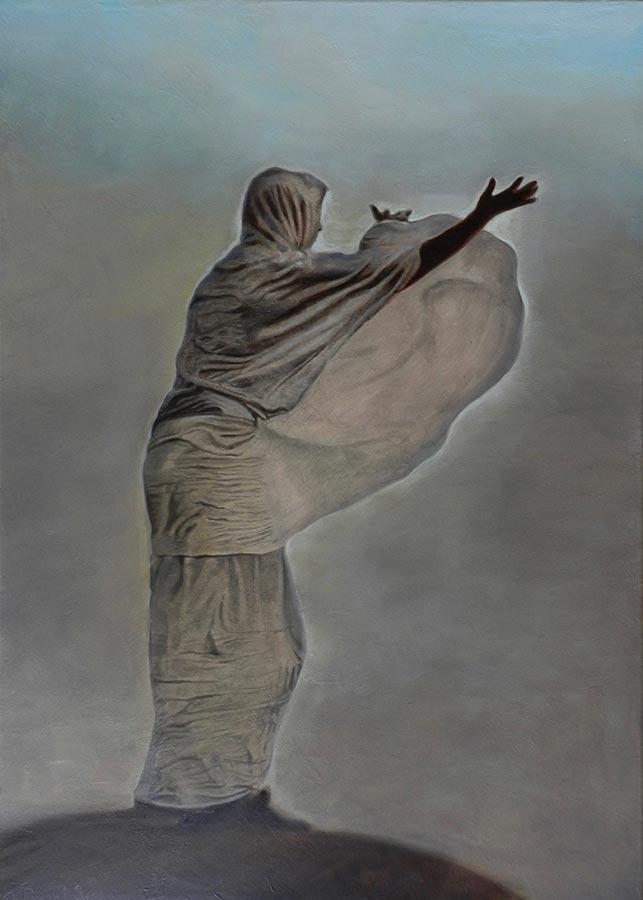 L'Immensita | Ulei pe pânză | 70 x 50 cm | 2018 | 800 Euro