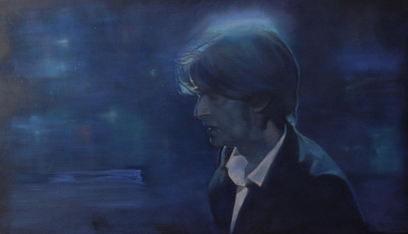 David Bowie | Ulei pe pânză | 60 x 100 cm | 2019 | 800 Euro