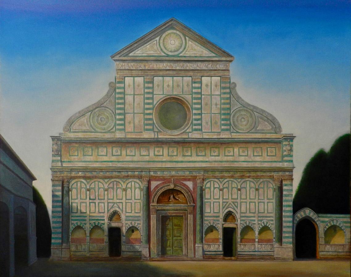 Santa Maria Novella | Ulei pe pânză | 80 x 100 cm | 2020 | 2250 Euro